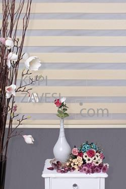Economical Beige Zebra Curtain (Roller Blind)