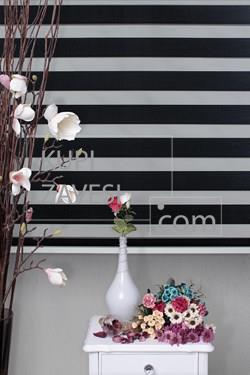 Economical Black Zebra Curtain (Roller Blind)